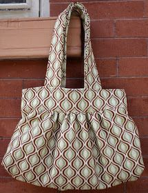 At Second Street: my new upholstery bag