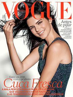 Kendall Jenner brilha na capa da edição de janeiro da Vogue Brasil - Vogue | News
