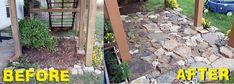 The FeauxCajun Kitchen: A Geologist's Rock Garden - DIY beginning to end