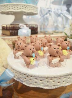 teddy bear party Teddy Bear Party, Teddy Bear Birthday, Baby Teddy Bear, Teddy Bear Baby Shower, Baby Shower Cakes, Baby Shower Oso, Picnic Birthday, Bear Theme, Fondant Figures