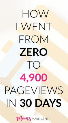One Month Recap: From Zero to 4,900 Pageviews in 30 Days