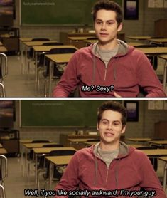 Dylan O'Brien from Teen Wolf. i love him
