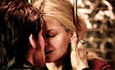 I hate when he smiles at her when he's about to leave her, or thinks he's going to die, or is about to be stabbed...