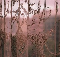 the-coldharbour-road: Lace (by Stephanie Overton) Dusty Rose Cottage