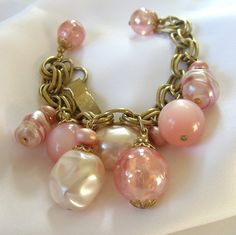 Vintage 1960s Napier Dangle Bracelet