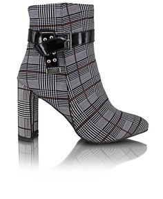 Ankle Boots - Black Casual Night Out, Black Ankle Boots, Smart Casual, Vintage Looks, Tartan, Attitude, High Heels, Female, Fashion