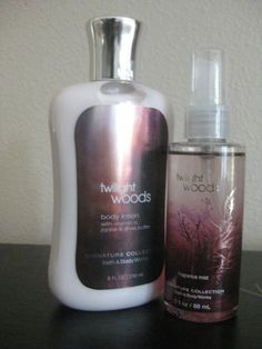 Twilight Woods Bath and Body Works Lotion Mini Fragrance Mist | eBay