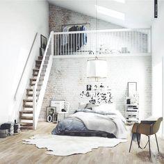 #bedroom #loft