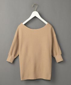 「<6(ROKU)>THERMAL BACK TWIST PULLOVER/サーマル о」