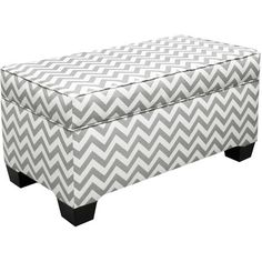I pinned this Bedlow Storage Ottoman in Ash Gray from the Brilliant Buys: Accent Furniture event at Joss and Main!