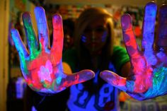 blacklight neon party NEED TO HAVE ONE