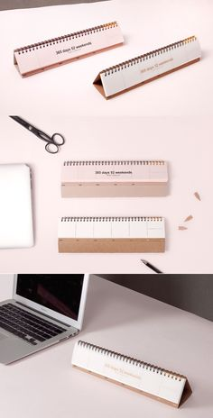 By noting down your plans briefly all the time, you can manage your time effectively and be proactive! Place this cute scheduler on your desk to start planning right now!