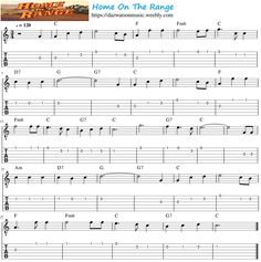 Easy Guitar Tabs - dw-music.simplesite.com