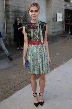 Kiernan Shipka wears Valentino #PFW #SS16