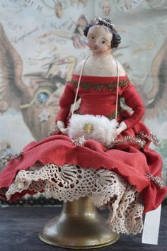 Tongue in Cheek - Saturday Art Saves: Nicol Sayre Christmas Doll (love the French flair).