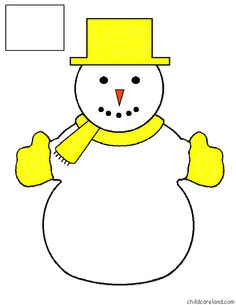žltý File Folder Games, Snowman Ornaments, Numbers, Preschool, Xmas, Winter Time, Tablet Computer, Snowman, Winter