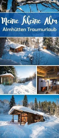 """Ruhe und Erholung inmitten einer Umgebung voll Ursprünglichkeit? Gemeinsame Zeit mit der Familie verbringen – wo Natur und das Miteinander im Mittelpunkt steht? Dann fühlt ihr euch in """"Meiner kleinen Alm"""" sicher wohl.#Almhütte #Berge #Österreich #Salzburg #Winter #Ski #Schnee #Reisetipps #Sauna #Wellness #Whirlpool"""
