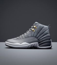 more photos b182e 90a9a Jordan Retro 12 Wolf Grey Wolf Grey Jordans, Jordan Outfits Womens, Jumpman  Jordans,