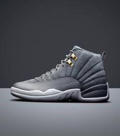 d8c4933a080f69 Jordan Retro 12 Wolf Grey Jumpman Jordans