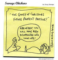 "Guardian style guide on Twitter: ""A lovely seasonal cartoon from Doug Savage's @savagechickens http://t.co/xf52ufwnTc"""