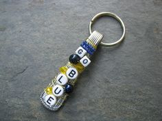 University of Michigan Spoon Handle by SilverwearCreations on Etsy, $10.00