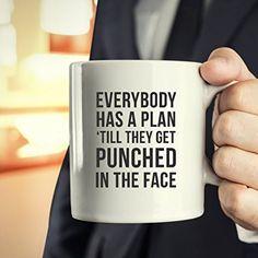 Amazon.com | Mug MMA MMA Gifts - Punched in the face mug - MMA Cup MMA Mug (15oz): Coffee Cups & Mugs