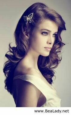 Beautiful wedding hairstyle for long hair - BeaLady.net