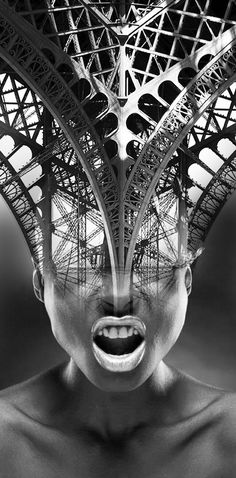 "Antonio Mora - ""Under construction"".  Printed vinyl over cardboardpil4r@routetoart.com"