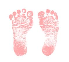 Baby Girl Feet Clip Art Pics For Pink Baby Footprint Clipart Clipart Baby, Baby Clip Art, Baby Art, Baby Feet Art, Dibujos Baby Shower, Baby Motiv, Welcome Baby Girls, Baby Boy Cards, Baby Icon
