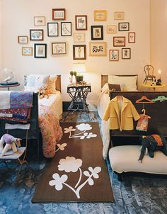 Shared Brother Sister Room. Image Cookie Magazine via Apartment Therapy - Ohdeedoh