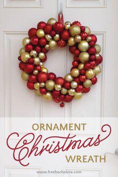 Ornament Christmas Wreath