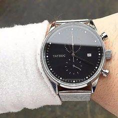 Tayroc Watches Chrono Silver ...
