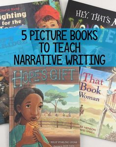 Mentor text for Narrative Writing