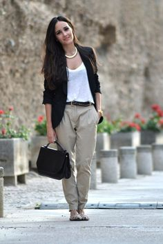 38 Stylish Work Clothes – some of these are really cute but most are more casual than work appropriate