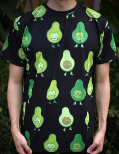 I am absolutely obsessed with avocados and all over prints so I knew I had to create an all over print avocado shirt and I am now absolutely...