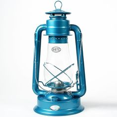 Dietz 80 Blizzard Hurricane Oil Lamp Burning Lantern Blue -- Be sure to check out this awesome product.