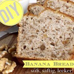 Süß und saftig – Banana Bread punktet nicht nur mit seinem Geschmack, sondern ebenfalls mit seiner schnellen und einfachen Zubereitung. Und auch für gesundheitsbewusste Genießer ist das fruchtige Gebäck eine gute Wahl.