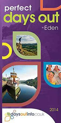 """We've worked in partnership with Northern Print Distribution (NPD), to produce for the first time a """"Perfect Days Out in Eden"""" guide for 2014 featuring attractions in Eden. The leaflet offers plenty of ideas for things and places to visit to do when you're in Eden. The guide is a great addition to NPD's existing selection of Perfect Days Out guides and will be available via leaflet display stands and Tourist Information Centre's. Pick up your free copy from Penrith TIC."""