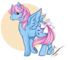 My Little Pony Wind Whistler (Redraw!) by Rapidashtrainer on DeviantArt