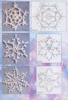 Show Your Spirit Gnomes sewing pattern by Indygo Junction Crochet Snowflake Pattern, Crochet Lace Edging, Crochet Stars, Crochet Snowflakes, Crochet Patterns, Crochet Christmas Decorations, Holiday Crochet, Christmas Crafts, Crochet Hat Tutorial