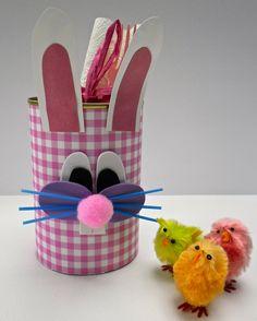 Easter Crafts, Knutselen voor Pasen: Pennenbakje of bestekbakje