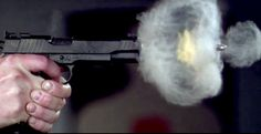 """ULTRA SLOW-MO: PISTOL SHOT RECORDED AT 73,000 FRAMES PER SECOND """"Video reveals a dance of pressure and fire that would otherwise be missed by the unaided eye"""