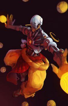 Overwatch - Zenyatta Artwork