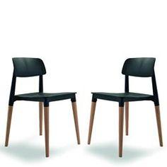Lot de 2 chaises design Glamwood_ DRAWER