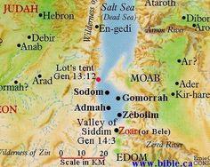 Sodoma y Gomorra - possible locations