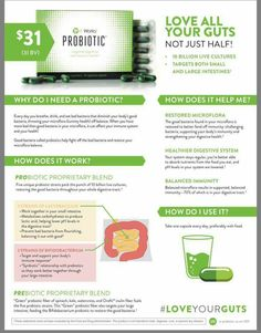 It Works New Probiotic!!! Visit the website to get you started today! Http://trenciswraps23.myitworks.com