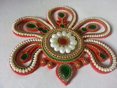 9 Outstanding Rangoli Pattern Ideas to Try Once Mandir Decoration, Thali Decoration Ideas, Diy Diwali Decorations, Festival Decorations, Wedding Decorations, Rangoli Patterns, Rangoli Ideas, Rangoli Designs, Crafts To Do