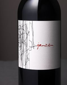 Janzen Wine Bacio Divino Cellars To Kalon Vineyard Wine Label & Package Design Napa Valley
