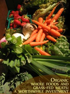 Buying Organic Whole Foods and Grass-Fed Meats