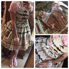 JSK: Angelic pretty  Blouse: Bodyline Shoes: An Tai Na